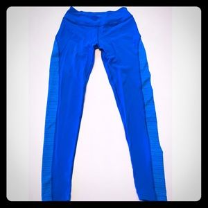 Beyond Yoga Blue Yoga Pants Made In USA